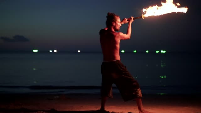 fire and performance - juggling stock videos & royalty-free footage