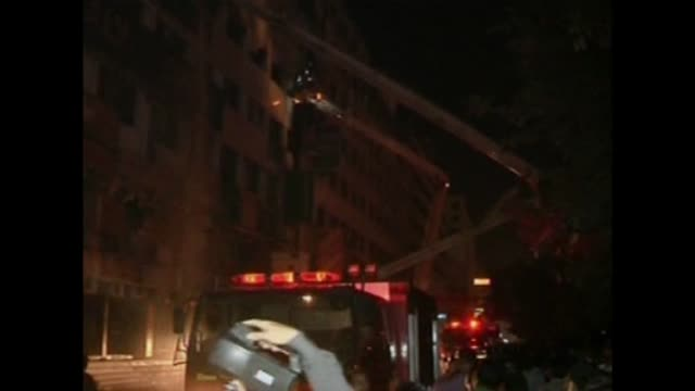 a fire at a garment factory kills at least eight people in the latest disaster to hit bangladeshs textile industry still reeling from the death of... - bangladesh stock videos & royalty-free footage
