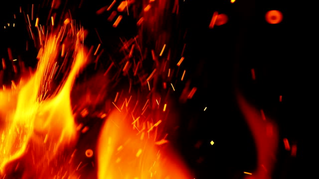 fire background - fuoco video stock e b–roll