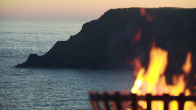 Fire beacon, Kynance Cove, Cornwall