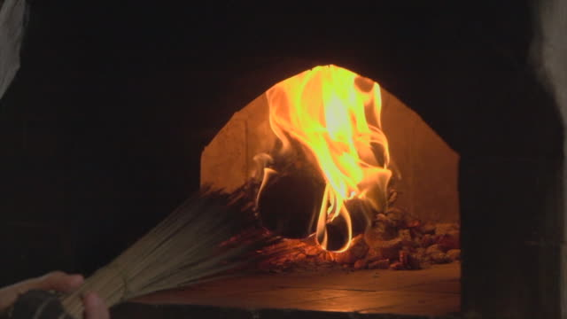 fire burn wood super slow motion - hearth oven stock videos & royalty-free footage