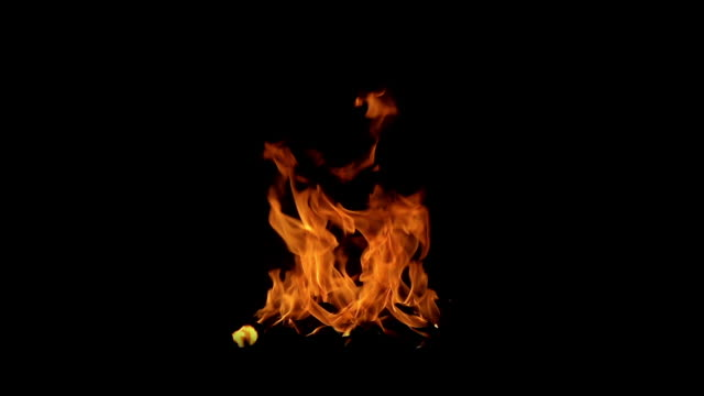 火災の燃焼(背景は追加のような描画モードで削除することができます) - film composite点の映像素材/bロール