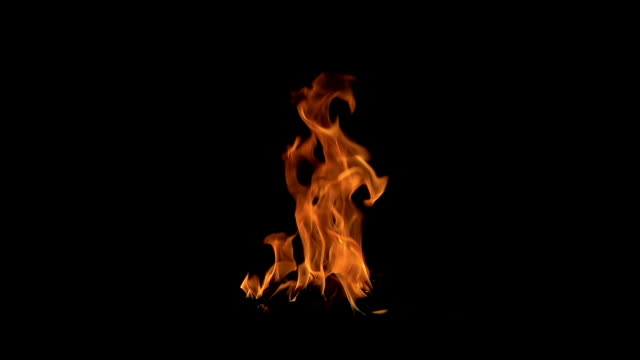 fire burning (the background can be removed with a blending mode like add) - metal industry stock videos & royalty-free footage