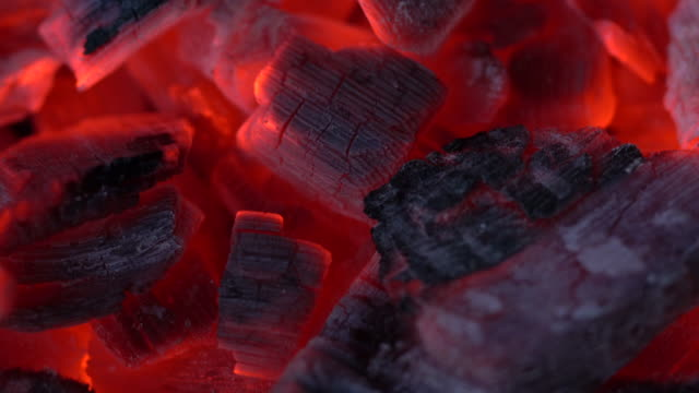 fire coals - coal stock videos & royalty-free footage