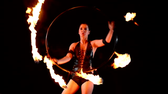 fire dance - performance stock videos & royalty-free footage