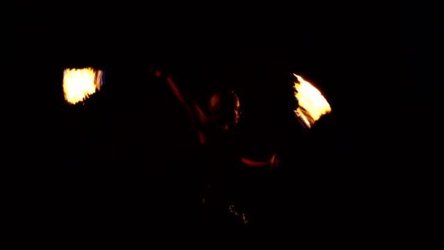 Fire dancer, Fire performer.