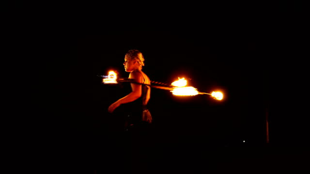 fire dancer, fire performer. - circus stock videos & royalty-free footage