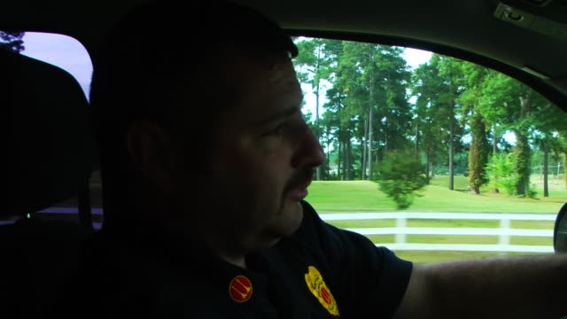 fire department and ems at a trailer home - trailer home stock videos & royalty-free footage