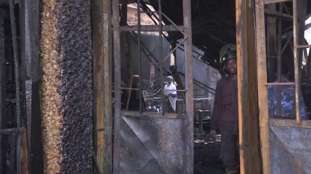 vídeos y material grabado en eventos de stock de fire destroyed addis ababas oldest hotel and one of its most popular jazz clubs on sunday - el cuerno de áfrica