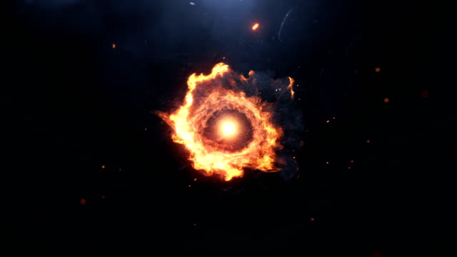 feuerexplosion an die kamera - feuerball stock-videos und b-roll-filmmaterial