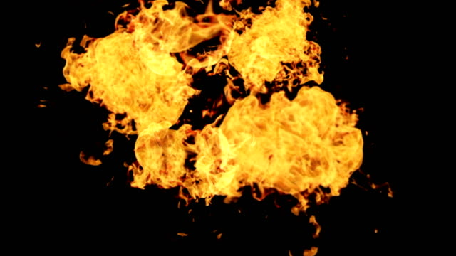 fire explosion - flaming torch stock videos & royalty-free footage