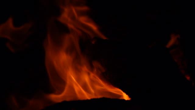 Fire flames from pit_highspeed closeup_darker