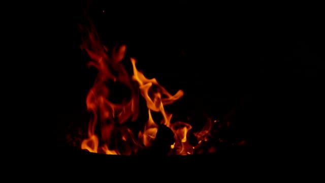 SLO MO Fire flames