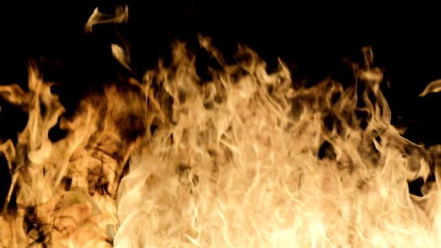 暖炉の炎 - 可燃性点の映像素材/bロール