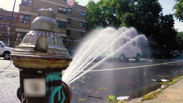 fire hydrant - brooklyn - public housing stock videos & royalty-free footage