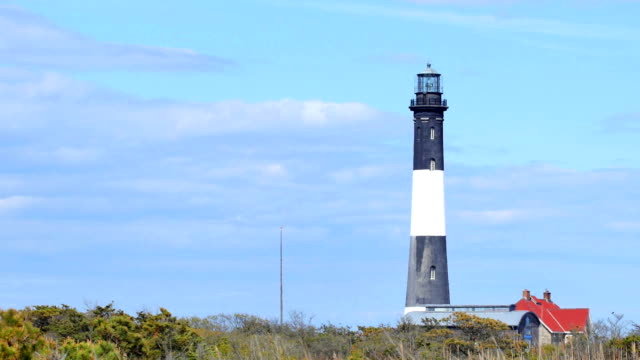 fire island lighthouse - long island stock videos & royalty-free footage