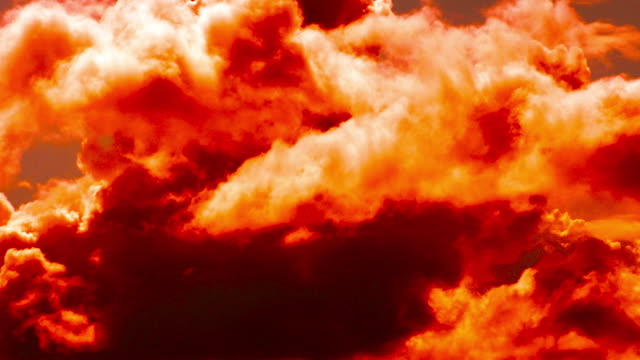 fire - natural phenomenon - red cloud sky stock videos & royalty-free footage