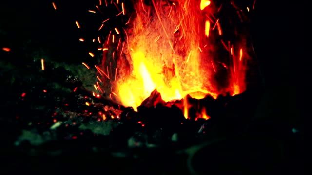 Fire of coal