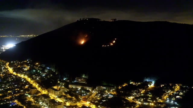 fire on the mountain - fire engine stock videos & royalty-free footage