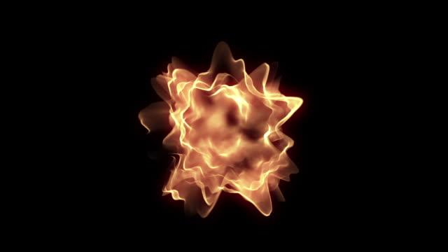 vidéos et rushes de particule feu (bouclables - fantaisie