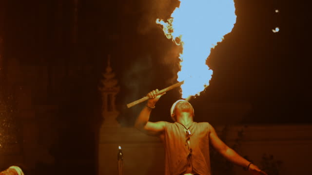 fire performer - indigenous culture stock videos & royalty-free footage