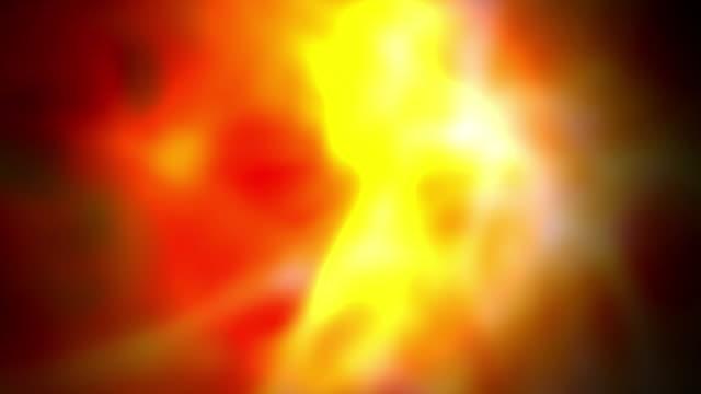 vídeos de stock, filmes e b-roll de fogo de plasma bloom - sangue humano