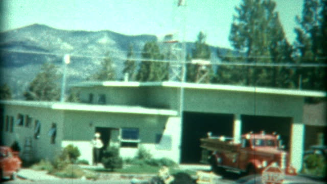 fire station california 1949 - 1940 1949 stock videos & royalty-free footage