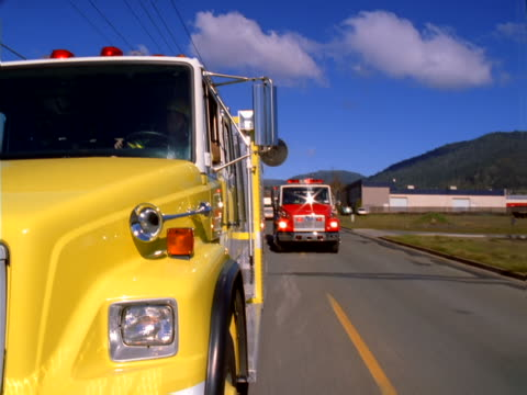 fire trucks - artbeats stock videos & royalty-free footage