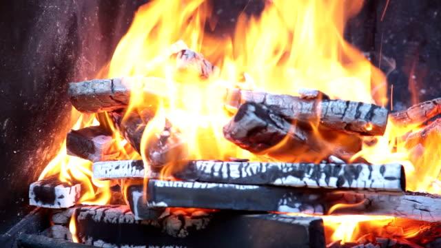 火 - 可燃性点の映像素材/bロール