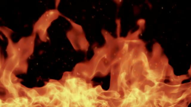 火災 - film composite点の映像素材/bロール