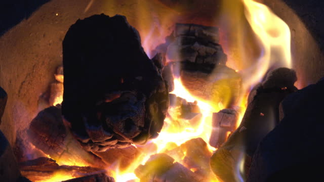 fire - briquette stock videos & royalty-free footage