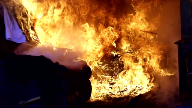 fire - fire natural phenomenon video stock e b–roll