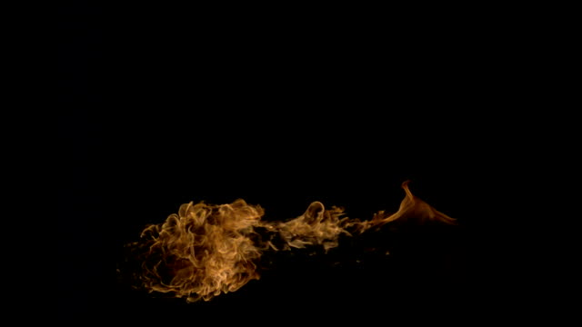 fire-burst in slow motion - dragon stock videos & royalty-free footage