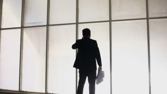 解雇された実業家が書類を投げる - paperwork点の映像素材/bロール