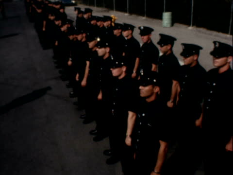 firefighter graduation - 1966 stock videos and b-roll footage