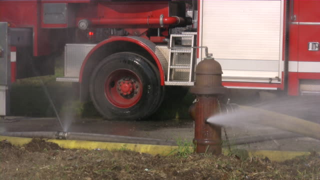 firefighters from fire department on emergency site. rescue mission. - fire station stock videos & royalty-free footage