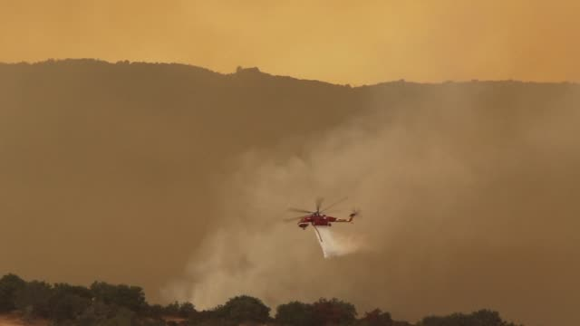 Firefighters struggle to contain infernos at the Sherpa Fire near Santa Barbara as experts warn that drought striken California should prepare for an...