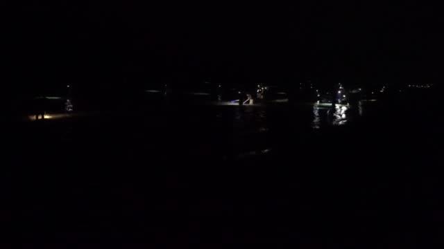 Firefly Squid Fishermen