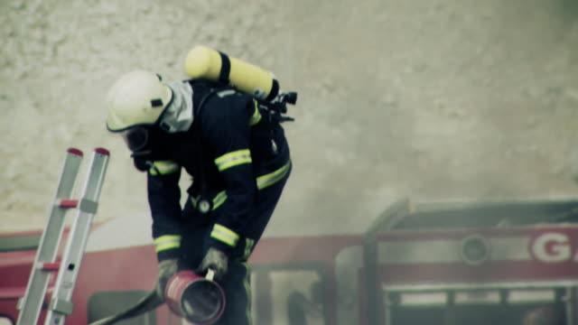 Fireman im Dienst