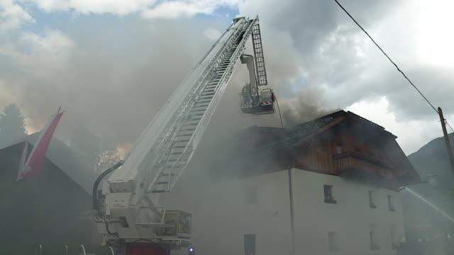 vídeos y material grabado en eventos de stock de firemen brigade group - parque de bomberos