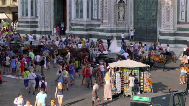 firenze  italy - fiore stock videos & royalty-free footage