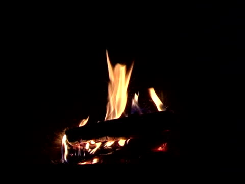fireplace background - log fire stock videos & royalty-free footage