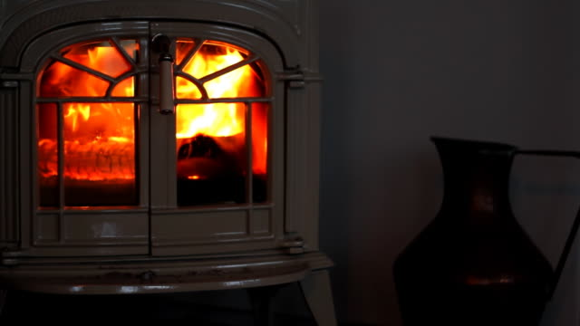 fireplace seamless loop - fireplace stock videos and b-roll footage