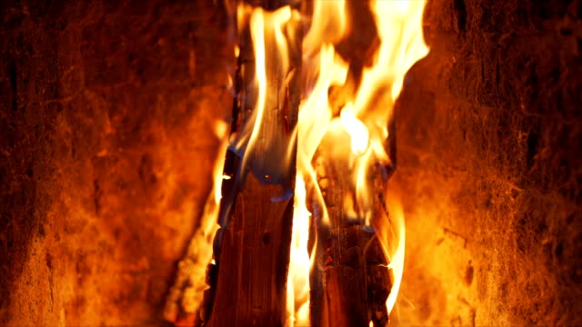 fireplace series - open fire stock videos & royalty-free footage