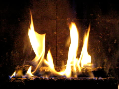 fireplace - log stock videos & royalty-free footage