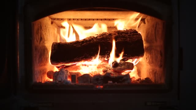 fireplace - fireplace stock videos and b-roll footage