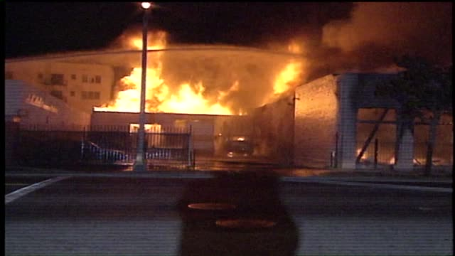 KTLA Fires During The LA Riots