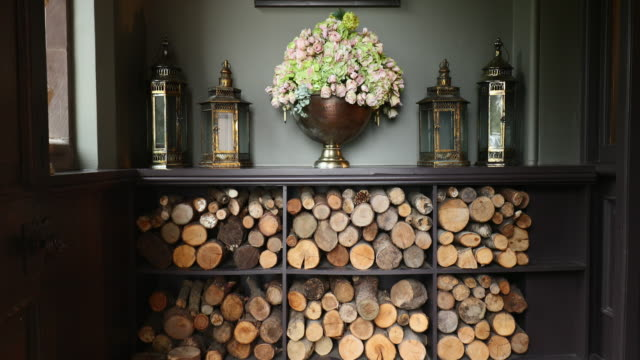 firewood lined up - ornate stock videos & royalty-free footage