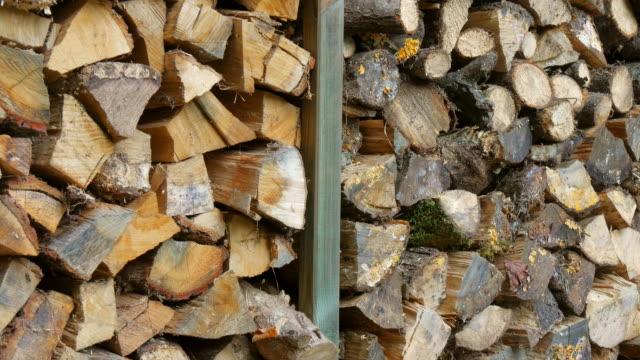 firewood - rhineland palatinate stock videos & royalty-free footage