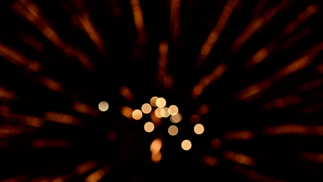 firework bokeh full hd video - defocussed stock videos & royalty-free footage